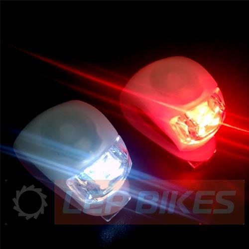 Kit de Luz de led / Farol/Lanterna/Sinalizador dianteiro + traseiro / kit para segurança noturna para bicicleta