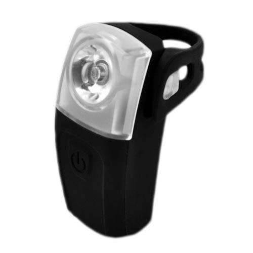 Luz traseira/sinalizador para bike 3 leds 0,5 Watt em silicone / Recarregável USB