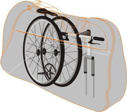 Mala para Bicicleta / Mala Bike Aro 29