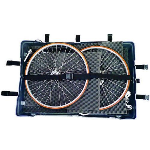 Mala Bike Hard Case - Mala rígida com rodinhas para transporte de bicicletas