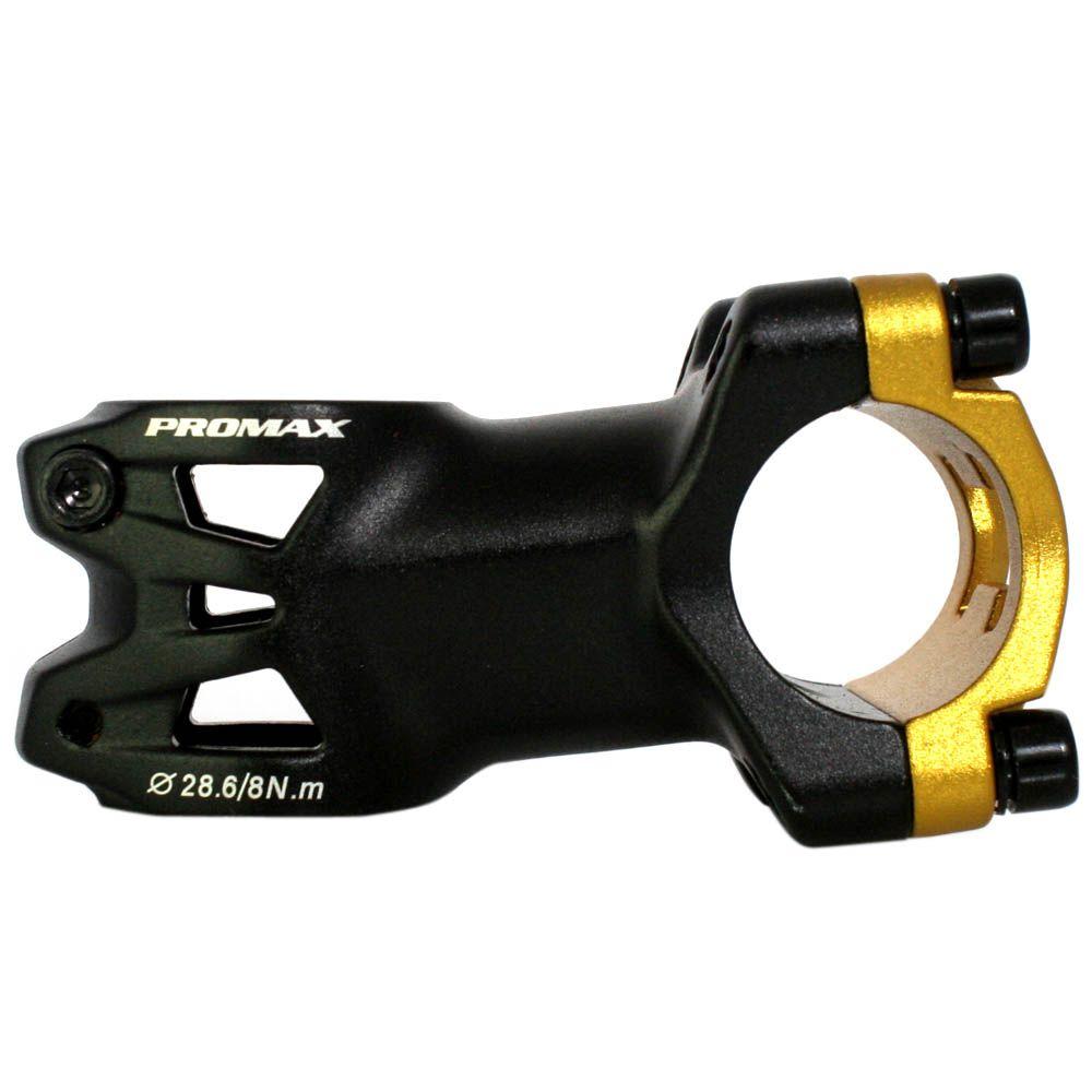 Mesa / Avanço Promax 60mm - 7º - 31.8mm - DA 751 NC - Preta e Dourada