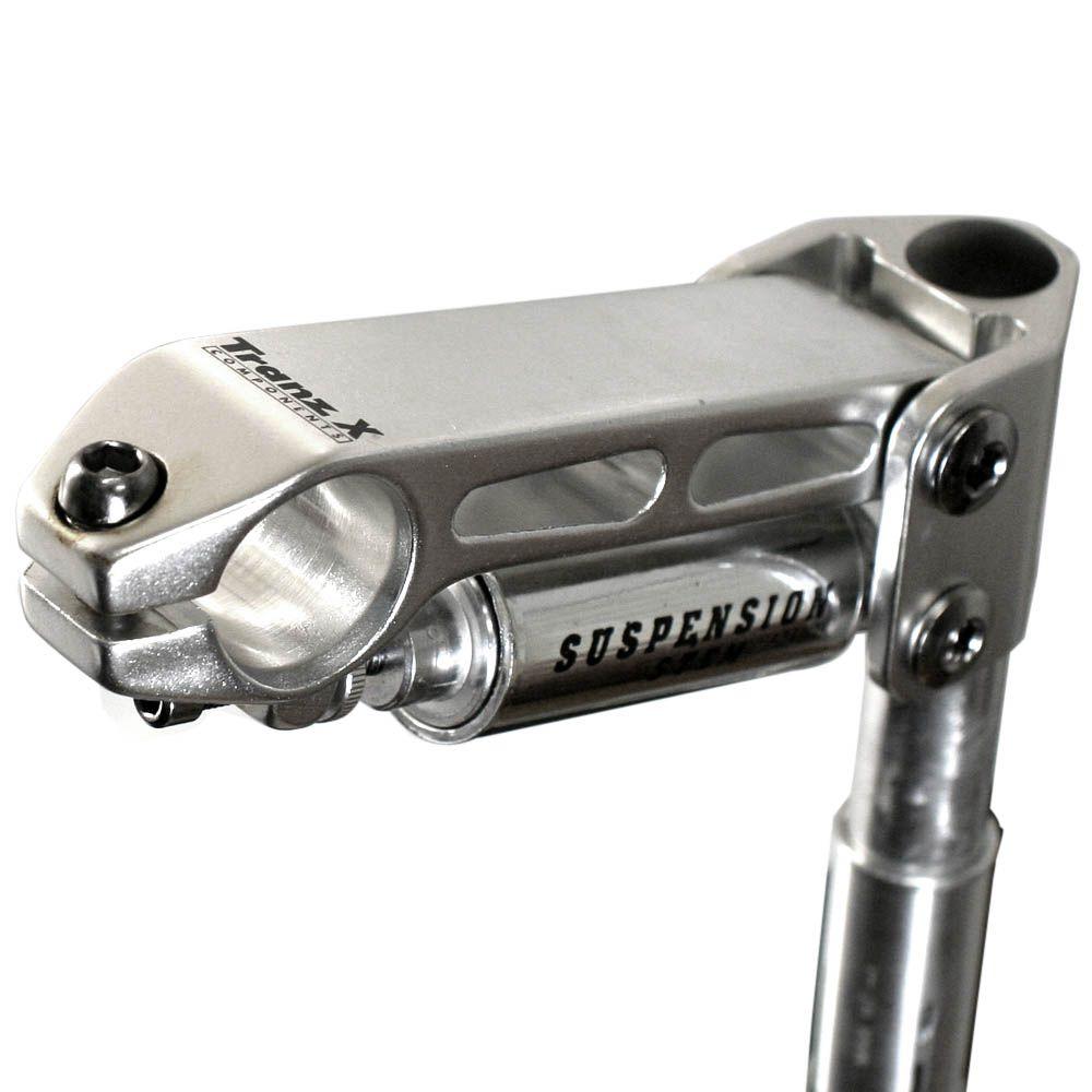 Mesa Tranz-x 115mm Com Suspensão Polido 25.4mm MTB