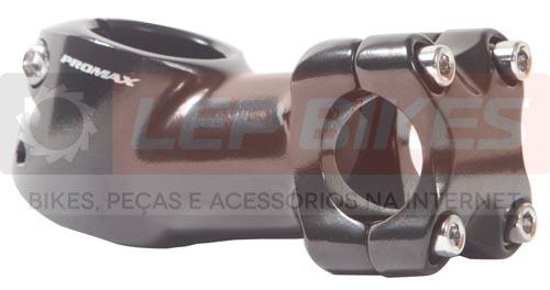 Mesa / Avanço Curta Promax 60mm / 20º Preta 25.4