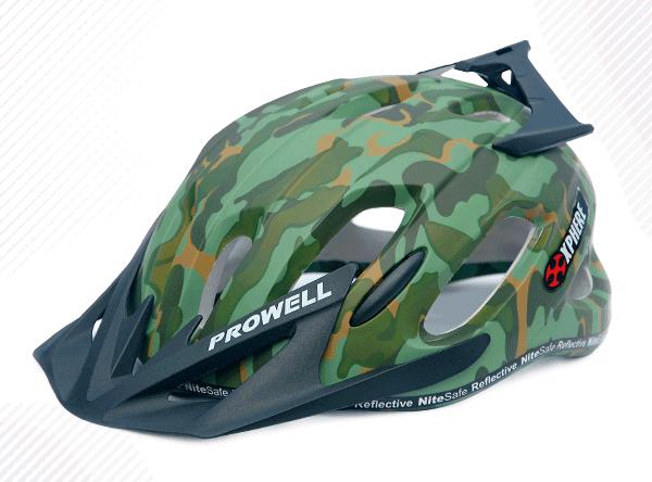 Capacete Prowell X-9 MATT M Camuflado