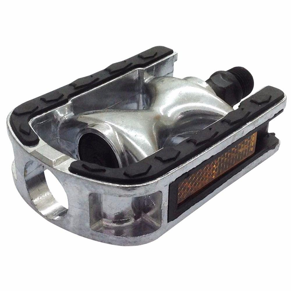 """Pedal Alumínio Emborrachado - Classico - Vintage - 9/16"""""""