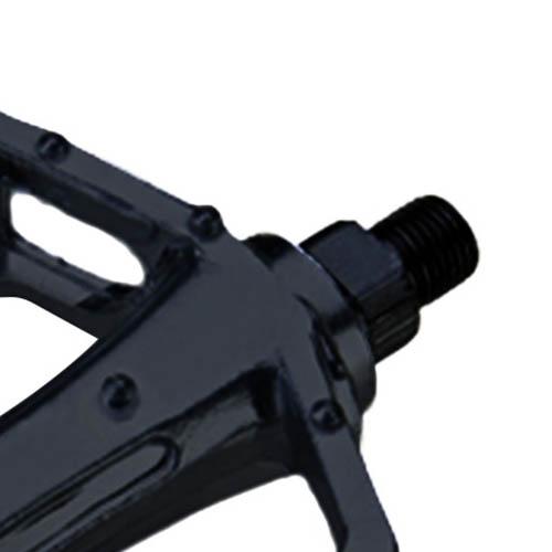 Pedal Plataforma em Alumínio com Refletores / Rosca 1/2 polegada (fina)
