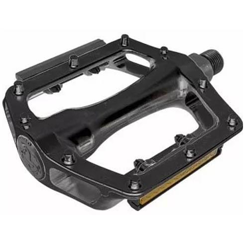 Pedal Plataforma em Alumínio com Refletores / Rosca 9/16 polegadas (grossa)