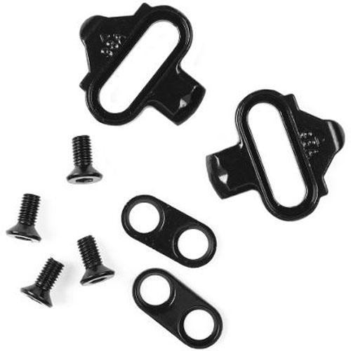 Pedal Wellgo WAM-M717 Alumínio e Cromoly CrMo / Duplo Engate / Clip / Rolamento Blindado / acompanha tacos - 348g