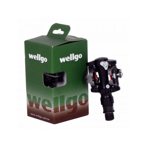 Pedal Wellgo M 919 c/ Engate / Clip para Sapatilha / MTB / SPD