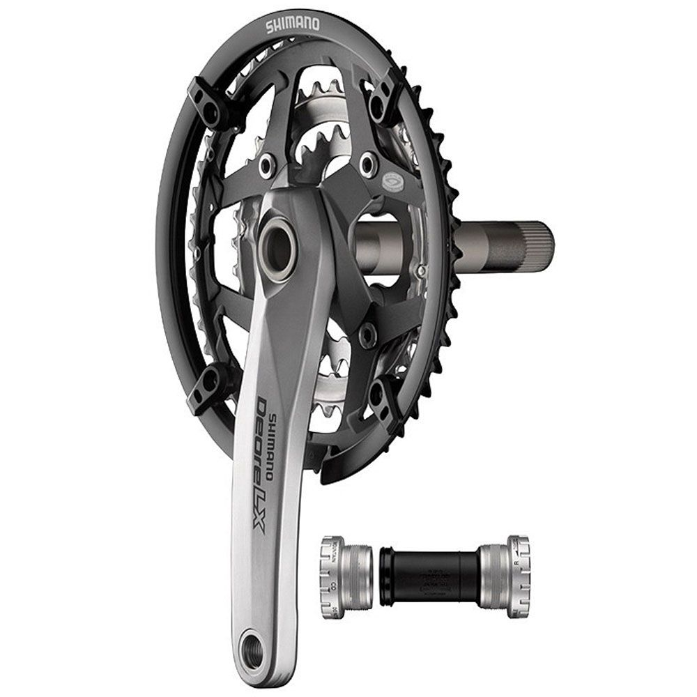 Pedivela Shimano Deore LX Integrado M 583 48x36x26 9v Hollowtech