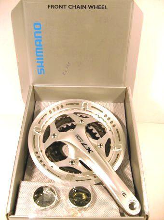 Pedivela Shimano Deore LX T661 - 48x36x26 9v Integrado C/ Eixo 175mm