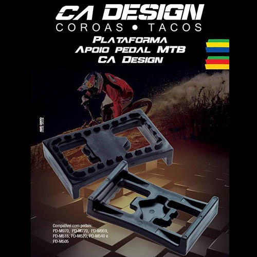 Plataforma para Pedal Shimano de Clip (Tipo PD 22)