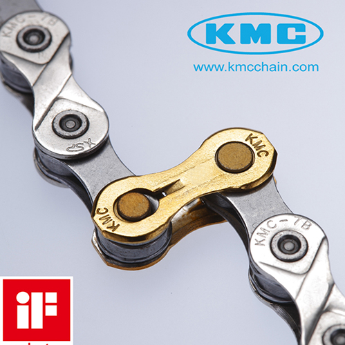 Emenda de Corrente / MissingLink / Power Link 10v KMC Dourado
