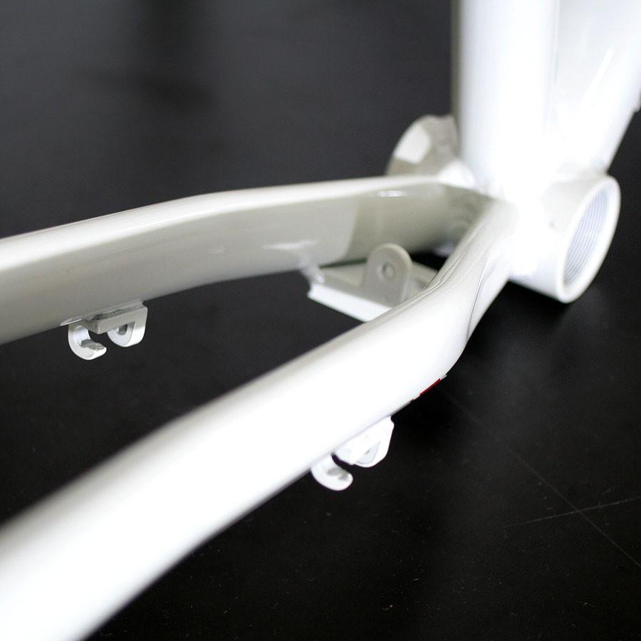 Quadro e Garfo Voox Vision aro 700 - Para nexus - Tam 17 - Frameset Branco