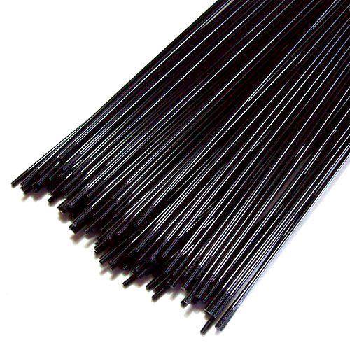 Raio de aço preto para bike 265mm x 2 - Jogo com 72 raios