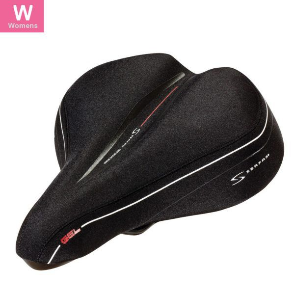Selim Serfas LS-100 Espuma de Absorção Women's Comfort Preto