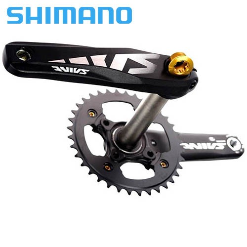 Pedivela Shimano Saint Integrado M810 38d Hollowtech 2