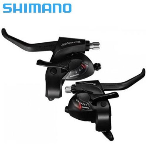 Conjunto alavanca de freio / trocador Shimano ST-TX800 Rapid Fire 24v 3x8v - Preto