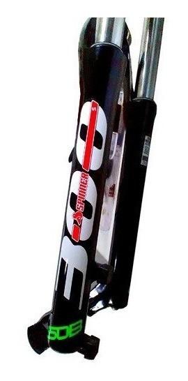 Suspensão Bike Aro 27.5 Spinner 300 Para Freio a Disco Serve em Aro 26 - Preto