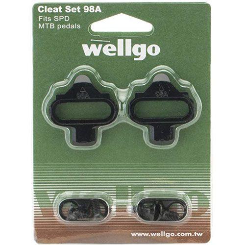 Taco / Taquinho de Pedal Clip Wellgo 98A / Tipo Shimano SPD (SH-51)