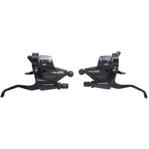 Trocador / Alavanca de cambio Shimano Acera M 390 3x9v - Com Manetes