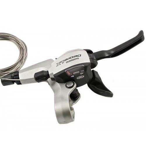 Trocador / Alavanca de cambio Shimano Deore LX M 580 3x9v Dual Control