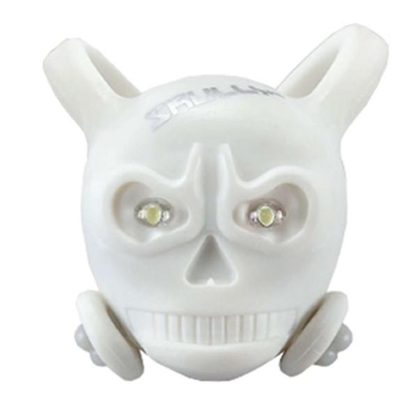 Vista Light Skully Branco Dianteiro (caveirinha de silicone)