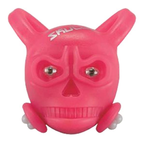 Vista Light Skully Pink Dianteiro  (caveirinha de silicone)