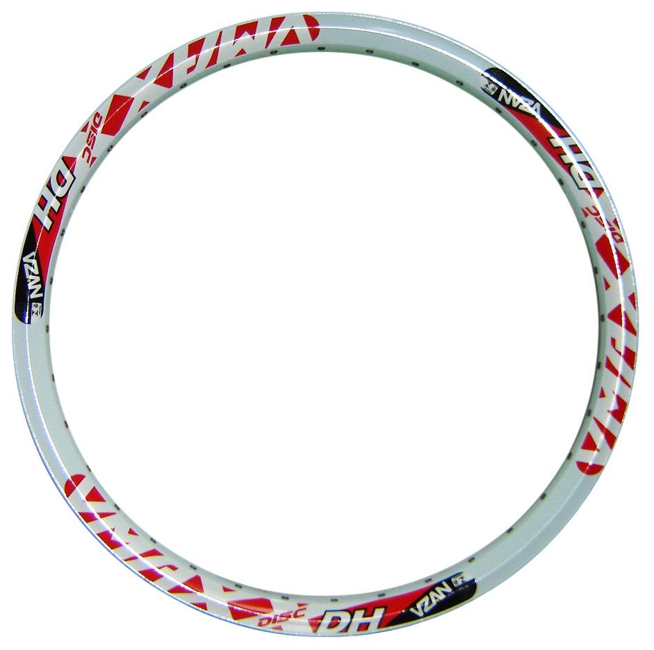 Aro Vzan  Vmaxx Alumínio 26x36 Furos para freio a disco BRANCO