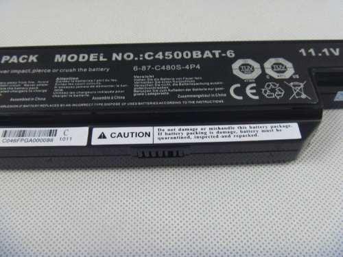 Bateria Notebook Para Clevo C4500bat-6  4400mah 11.1v - EASY HELP NOTE