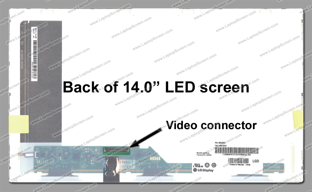 Tela Led 14.0 Para Dell Inspiron 14 3420 1366x768 - EASY HELP NOTE