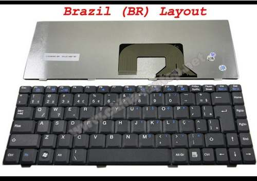 Teclado Notebook P/ Toshiba Sti Is 1462 Is1462 V 0224bibk1 - EASY HELP NOTE