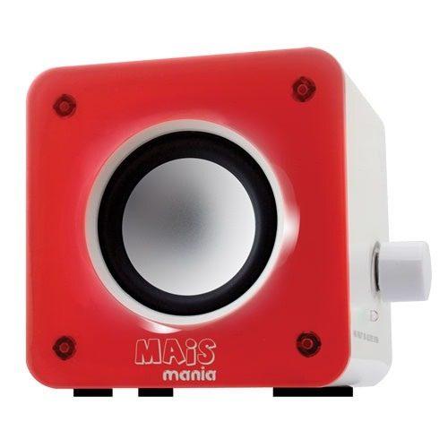 Mini Caixa De Som Potência Rms: 8 Watts Rms (4w Rms X 2) - EASY HELP NOTE
