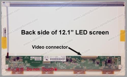 Tela 12.1 Led 30 Pinos Hsd121phw1-a03 Eeepc Seashel 1215b - EASY HELP NOTE
