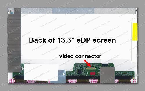 Tela 13.3 * 30 Pinos Led Para Dell Latitude E6320   1388x768 - EASY HELP NOTE