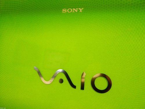Tampa + Moldura P/ Notebook Sony Vaio Vpc Ea Series Verde - EASY HELP NOTE