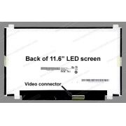 Tela 11.6 Led Slim B116xw03 N116bge-l41 Netbook Acer One 722 conector superior e inferior - EASY HELP NOTE