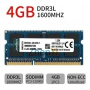 Memoria Kingston 4gb Ddr3l Pc3-12800 1600 Kvr16ls11/4 Sodimm - EASY HELP NOTE