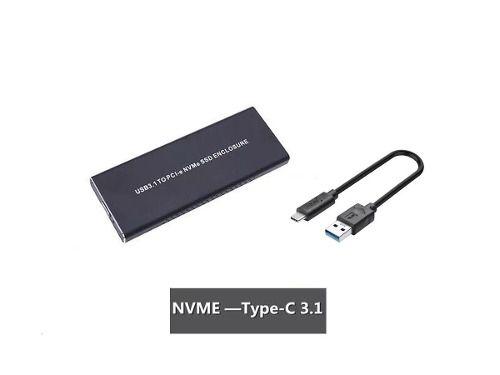 Case Adaptador Ssd M.2 Nvme Pci-e Usb 3.1 Type C 10 Gbs Evo ( case 3.1-NVME ) - EASY HELP NOTE
