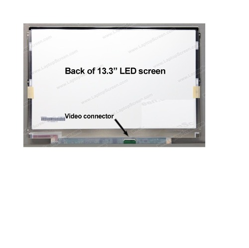Tela  13.3 Led Slim  P/ Hp Dv3000, Dv3500, Dv3500ea Dv3500nr - EASY HELP NOTE