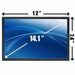 Tela 14.1 Lcd  Wide Note Sti Toshiba Is1412 / Is1413 - EASY HELP NOTE