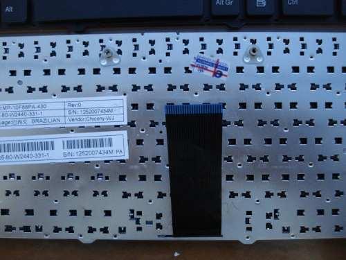 Teclado Para Itautec A7730 - Mp-10f88pa-430w  Novo Com Ç - EASY HELP NOTE