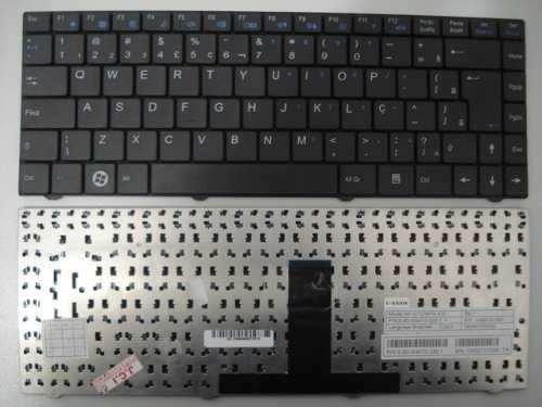 Teclado Para Megaware Meganote 4129  Mp-07g38pa-430  Com Ç - EASY HELP NOTE