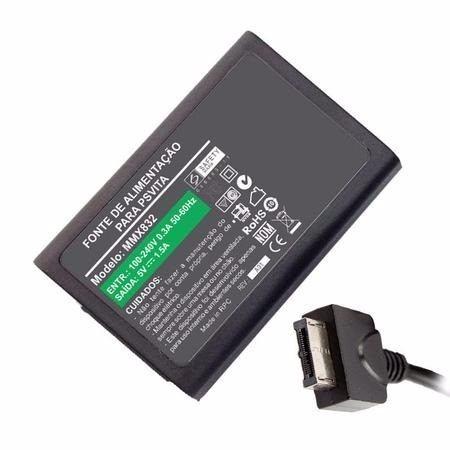Fonte Carregador Para Sony Psp Ps Vita 5v 1.5a 7,5w MM 832 - EASY HELP NOTE