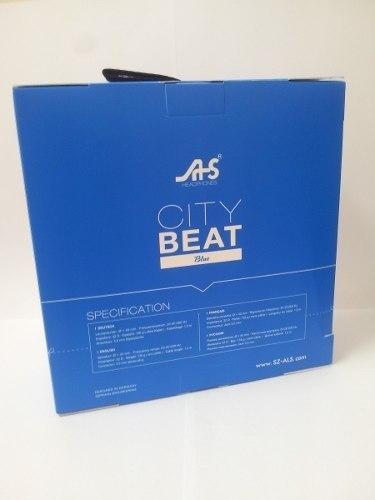 Fone De Ouvido Com Fio City Beat - Ltx-721c-azul - EASY HELP NOTE