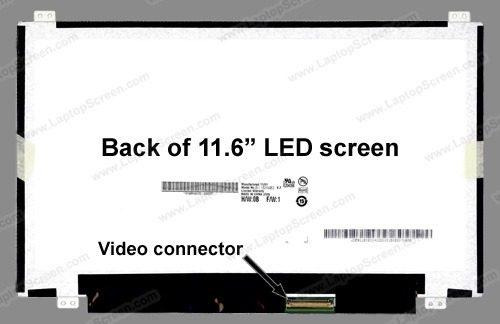 Tela 11.6 Led Slim Acer Aspire V5-121-0658 1366x768 - EASY HELP NOTE