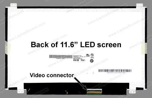 Tela 11.6 Led Slim Acer Aspire One 756-2641 1366x768 - EASY HELP NOTE