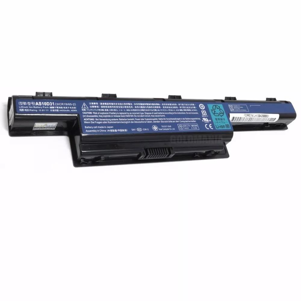 Bateria Acer Aspire 4250 Series - Tm5740 - 4400mah - As10d31 - EASY HELP NOTE