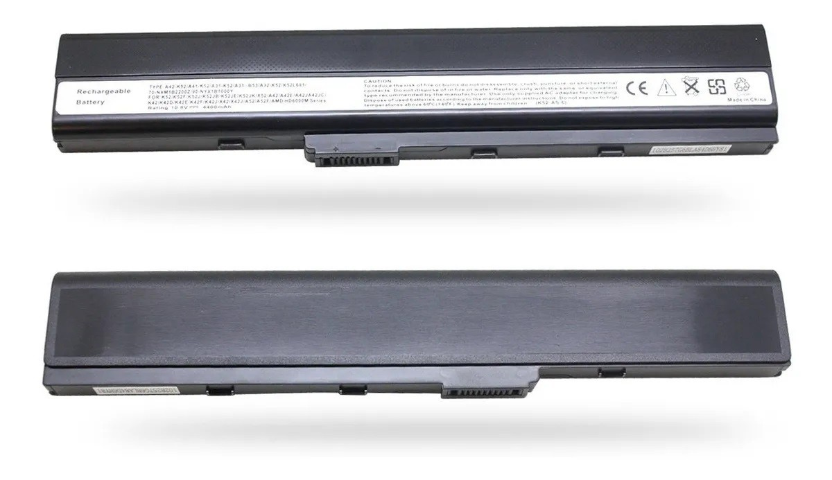 Bateria Para Asus A52 Series A32-k52  Cell 6 - 10.8v - EASY HELP NOTE