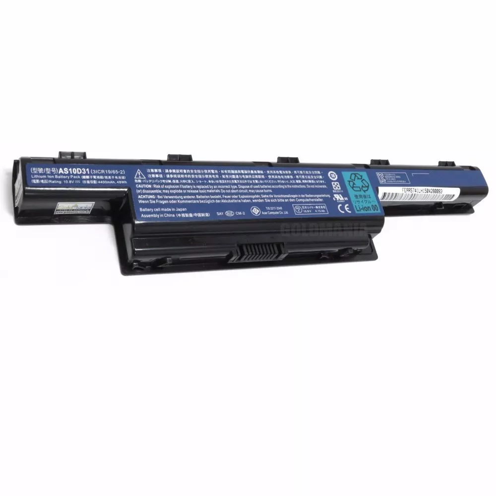Bateria Paraacer Aspire E1 Series 4400mah 10.8v  As10d31 - EASY HELP NOTE